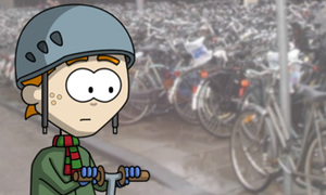 Invader Stu: The trouble with bicycle racks