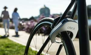 The LINKA lock: high-tech security for your bike