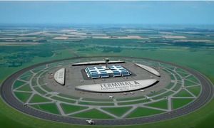 Dutchman invents circular runway for airplanes