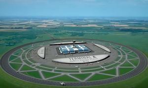 Dutchman invents circular runway for airplanes