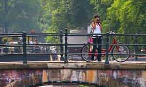 The Netherlands had record numbers of tourists in 2013