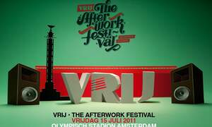 Win two double tickets for VRIJ - The Afterwork Festival