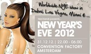 Win two double tickets for the Hed Kandi New Years Eve party