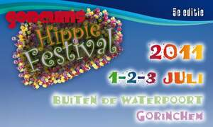 Win five double tickets for Gorcums Hippiefestival