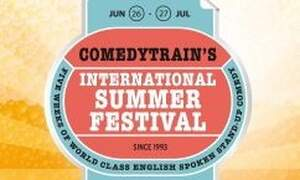 Win two double tickets to Comedytrain's International Summer Festival