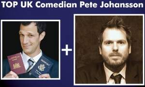 Win four double tickets to the Greg Shapiro presents Pete Johansson comedy tour