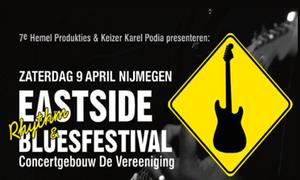 Win two double tickets for Eastside Bluesfestival