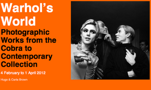 Win three double tickets for Warhol's World exhibition