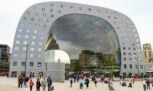 Rotterdam's Markthal is branching out