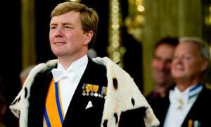King Willem-Alexander gives his first King's Speech for the Budget