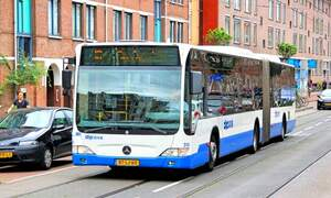 Amsterdam public transit to go emissions-free by 2025