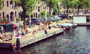 Are Amsterdam's canals clean enough to swim in?