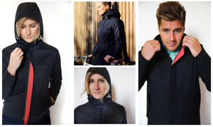 High-end cycling apparel: safe, fashionable urban biking