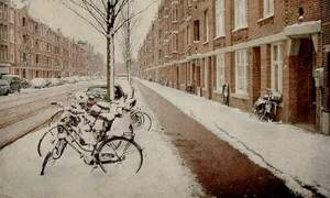 Preparation for winter cycling in the Netherlands begins