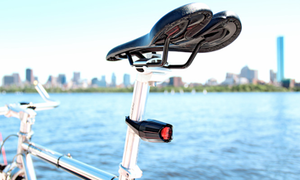 Indestructible & Theft-proof bicycle lights launching soon