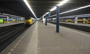 Temporary Central Station in The Hague