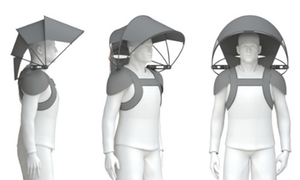 The Nubrella: could this umbrella shield us from Dutch weather?