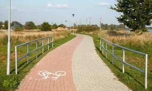 Loose paving stones and melting asphalt in the Netherlands