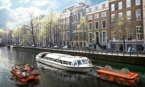 Could traffic reducing autonomous boats be coming to Amsterdam?