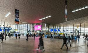 Hidden cameras in Dutch advertisement billboards at NS train stations can see you