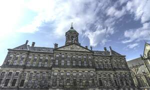 How did Royal Palace Amsterdam come to be?