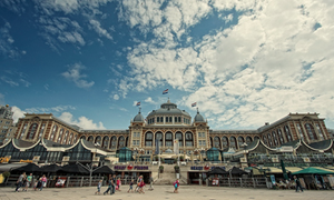 Scheveningen is the most popular beach in the Netherlands