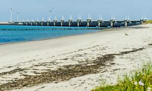 [Video] Largest storm surge barrier in the Netherlands