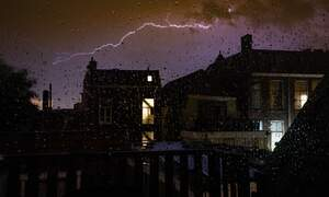 Say goodbye to tropical temperatures as thunderstorms hit the Netherlands