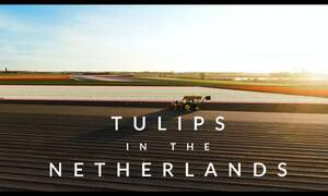 [Video] Footage of the beautiful Dutch tulip fields from above