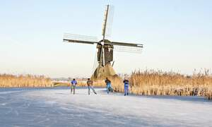 [Video] Ice skating in the Netherlands