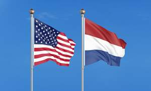 The history between the USA and the Netherlands