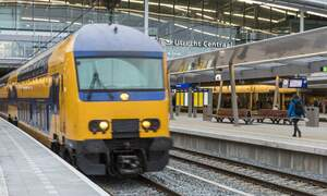 Amsterdam is not the busiest train station in the Netherlands