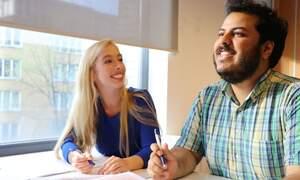 Win a language course at UvA Talen