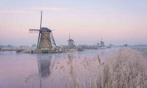 March colder than January in the Netherlands