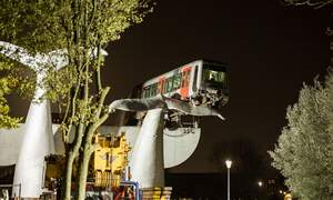 Saved by the whale's tail: Rotterdam metro to be taken down