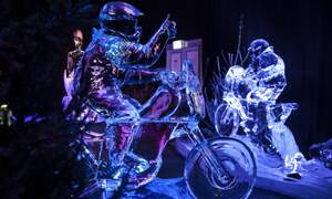 Win tickets to the Dutch Ice Sculpture Festival
