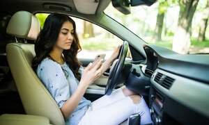 Record number of fines issued to drivers using their phones behind the wheel