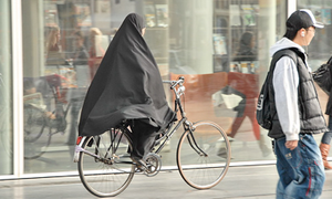 The Netherlands bans the burka