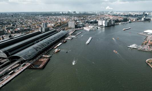 Forget the ferry - soon you'll be taking a bridge over the IJ!