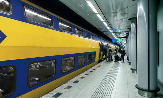 No trains to Schiphol this Saturday