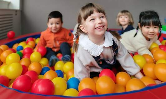 The benefits of group activities for children in childcare