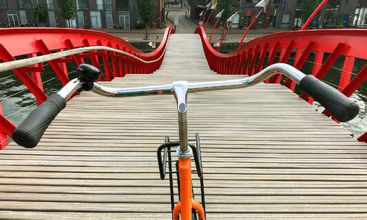 Cycling lessons for expats in the Netherlands