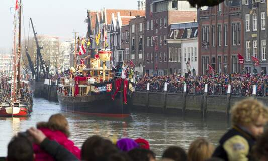 No boat for Sinterklaas this year