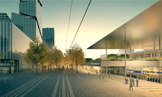 Anticipating the new Amsterdam Zuid Station