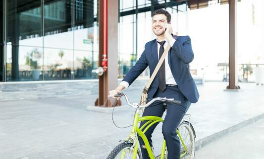 Fines for mobile-using cyclists soon to come into force in the Netherlands