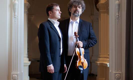 Duets for violin and piano in Concertgebouw Recital Hall