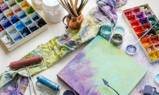 Cope with change by getting in touch with your creative side