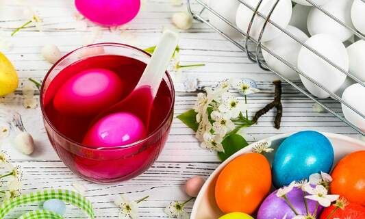 Tips for decorating eggs for Easter