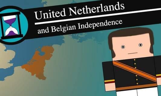 [Video] The history of the United Kingdom of the Netherlands 1815 - 1839