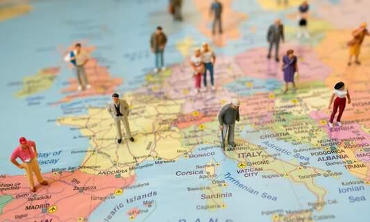 Most of the Netherlands coloured dark red on ECDC coronavirus map